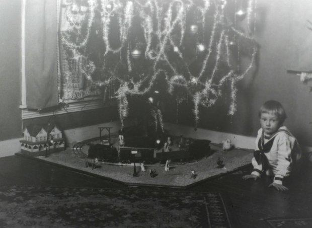 Set Of Three Christmas Trees