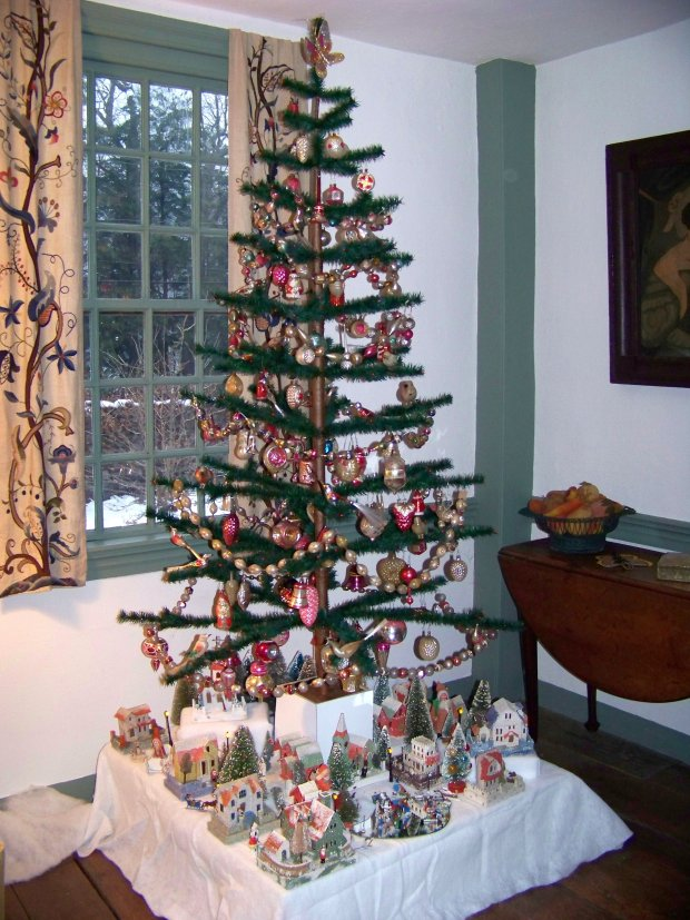 How Can I Build A Christmas Village Tree