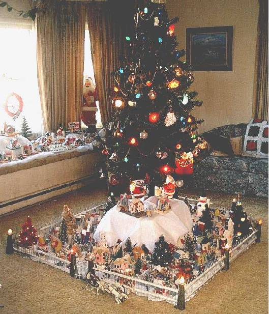 Christmas Village Decorations Ideas: Christmas Village Putzes And Train Layouts Submitted For 2004