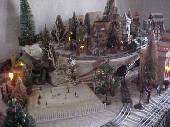 Christmas Village Putzes And Train Layouts Submitted For 2008