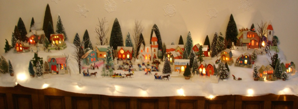 christmas village putzes and train layouts submitted for 2009