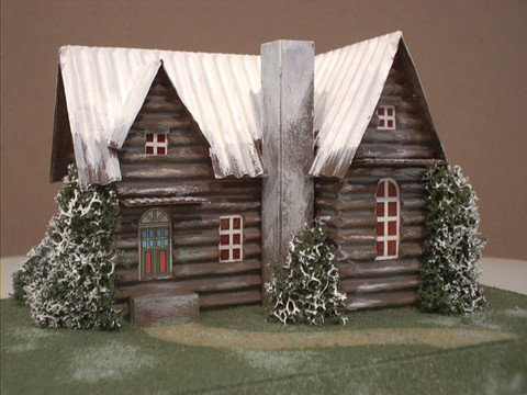For sale new karl fey christmas village houses for Stationary tiny houses for sale