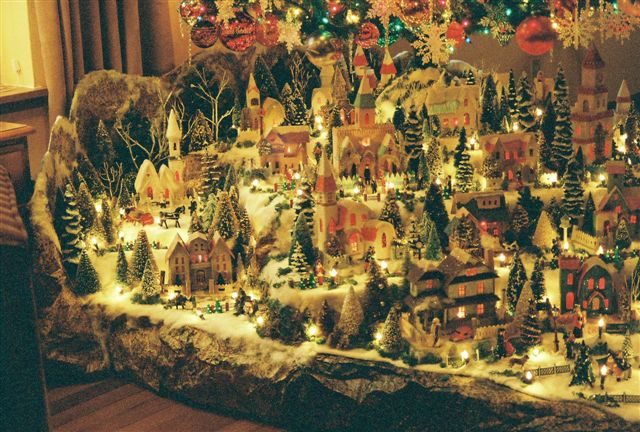 Christmas Village Putzes And Train Layouts Submitted For 2005