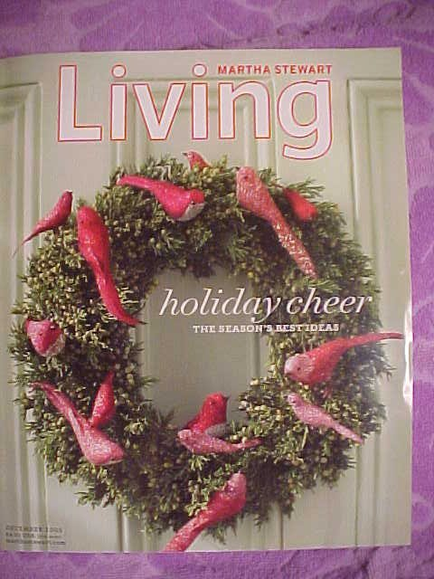 martha stewart christmas magazine cover - Martha Stewart Christmas