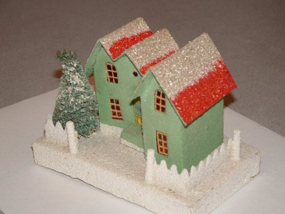 christmas village putzes and train layouts after world war ii. Black Bedroom Furniture Sets. Home Design Ideas